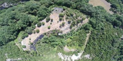 aerial photography of ancient leivithra